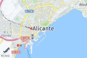 código postal de Alicante