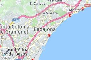 código postal de Badalona