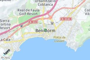 código postal de Benidorm