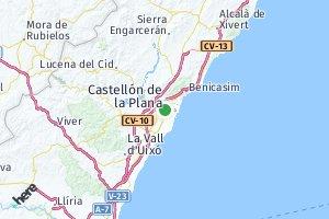 código postal de la provincia de Castellón