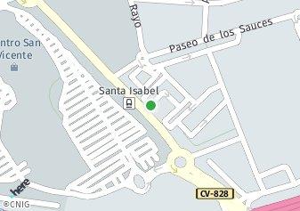 código postal de la provincia de Colonia Santa Isabel en Provincia De Alicante