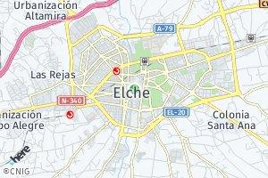 código postal de Elche