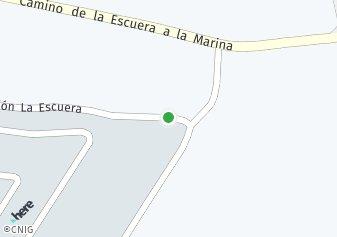 código postal de la provincia de Escuera La Urbanizacion en Provincia De Alicante