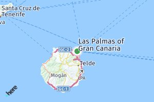 código postal de la provincia de Las Palmas