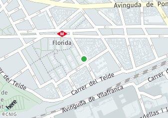 código postal de la provincia de Mimosas en L Hospitalet De Llobregat