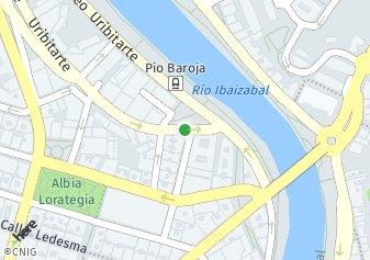 código postal de la provincia de Pio Baroja Plaza en Bilbao