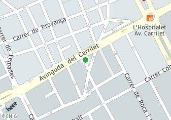 código postal de la provincia de Princep De Bergara Impares Del 47 Al Final Pares Del 74 Al Final en L Hospitalet De Llobregat
