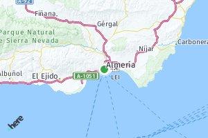 código postal de la provincia de Almería