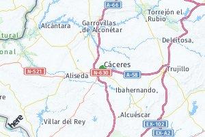 código postal de la provincia de Cáceres