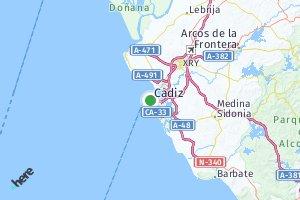 código postal de la provincia de Cádiz