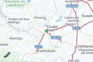 código postal de la provincia de Ciudad Real