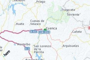 código postal de la provincia de Cuenca