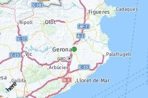 código postal de la provincia de Gerona