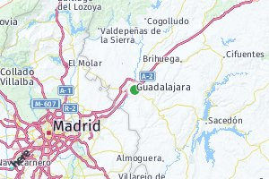 código postal de la provincia de Guadalajara
