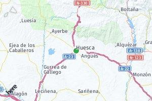 código postal de la provincia de Huesca