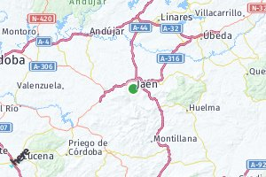 código postal de la provincia de Jaén