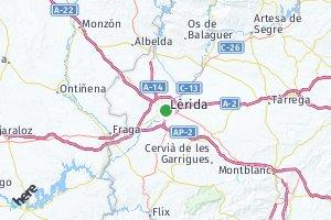 código postal de la provincia de Lérida