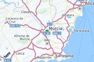 código postal de la provincia de Murcia
