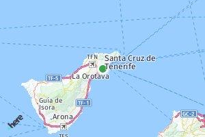 código postal de la provincia de Santa Cruz de Tenerife