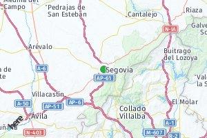 código postal de la provincia de Segovia
