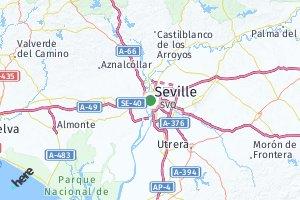 código postal de la provincia de Sevilla