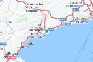 código postal de la provincia de Tarragona