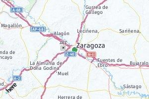 código postal de la provincia de Zaragoza