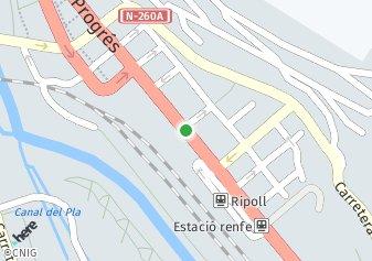 código postal de la provincia de Ripoll en Provincia De Girona