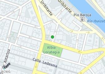 código postal de la provincia de San Vicente en Bilbao