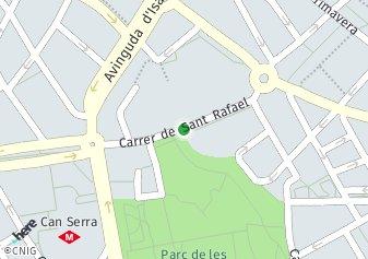 código postal de la provincia de Sant Rafael en L Hospitalet De Llobregat