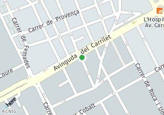 código postal de la provincia de Sant Roc Impares Del 67 Al Final Pares Del 66 Al Final en L Hospitalet De Llobregat