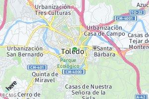 código postal de Toledo