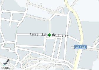 código postal de la provincia de Veinat De Llierca en Provincia De Girona