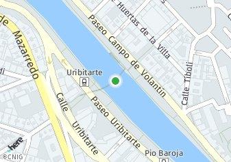 código postal de la provincia de Zubizuri Puente en Bilbao